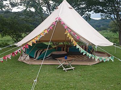 キャンプ場で使うキャンプ用品の種類とメーカー